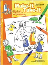 Bible-in-Life Early Elementary Make It Take It, Fall 2015
