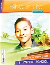 Bible-in-Life Middle School Creative Teaching Aids, Fall 2015