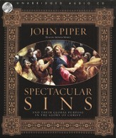 Spectacular Sins: Unabridged Audiobook on CD