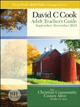 Bible-in-Life Adult Comprehensive Bible Study Teacher's Guide, Fall 2015