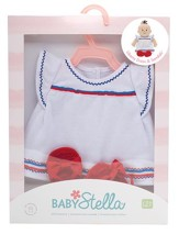 Baby Stella Liberty Dress and Sandals Outfit