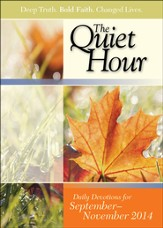 Bible-in-Life The Quiet Hour, Fall 2014