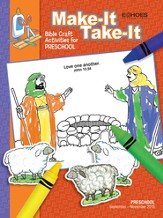 Echoes Preschool Make It Take It (Craft Book), Fall 2015