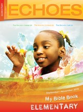 Echoes Elementary Bible Discoveries Student Book, Fall 2015