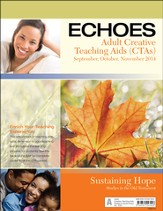 Echoes Adult Comprehensive Bible Study Creative Teaching Aids, Fall 2014