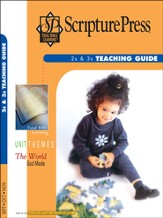 Scripture Press 2s & 3s Teaching Guide, Fall 2014