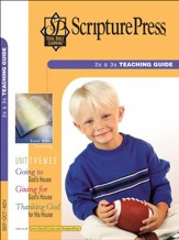 Scripture Press 2s & 3s Teaching Guide, Fall 2016