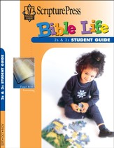 Scripture Press 2s & 3s Bible Life Student Book, Fall 2014
