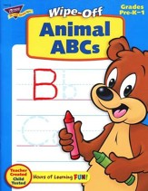Animal ABCs Wipe-Off Books