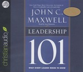 Leadership 101 - Unabridged Audiobook on CD