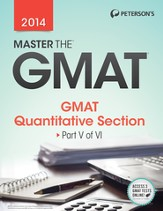 Master the GMAT: GMAT Quantitative Section: Part V of VI - eBook