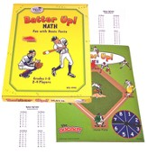 Batter Up Math Grades 1-6