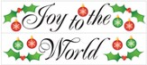 Joy to the World Vinyl Wall Stickers