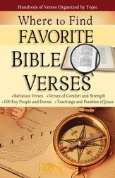 Where to Find Favorite Bible Verses, Pamphlet - eBook