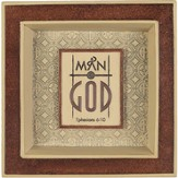 Man of God Coin Tray