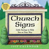 2015 Church Signs Box Calendar
