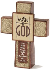 Man of God Cross