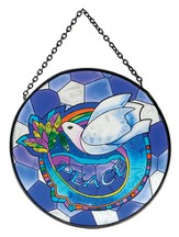 Peace Dove Sun Catcher