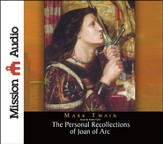 Personal Recollections of Joan of Arc Unabridged Audiobook on CD