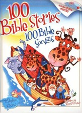 100 Bible Stories/100 Bible Songs--Book and CDs  - Slightly Imperfect