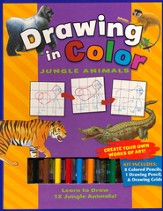 Drawing In Color: Jungle Animals
