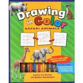 Drawing in Color: Safari Animals