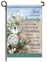 Serenity Prayer Flag, Small