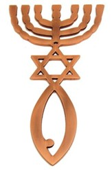 Copper Roots Symbol Wall Hanger