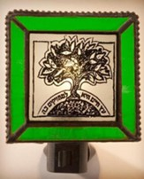 Tree of Life Night Light, Green