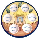 Holy Temple Passover Plate