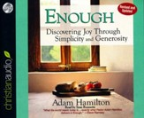 Enough: Discovering Joy through Simplicity and Generosity Unabridged Audiobook on CD