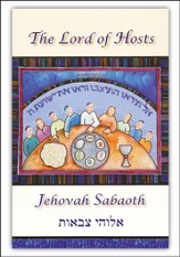 Jehovah Sabaoth Greeting Cards Lord of Hosts (6 cards and envelopes to a pack)