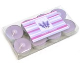 Tealight Scented Candles Lavender box of 8 4 Diameter