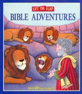 Lift the Flap Bible Adventures, Board Book