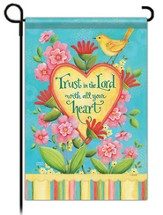 Trust In the Lord Flag, Garden Size