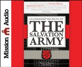 Leadership Secrets of the Salvation Army Unabridged Audiobook on CD