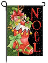 Noel, Stocking Flag, Small
