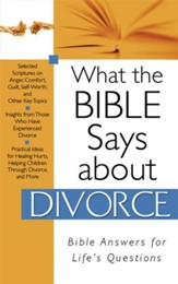What The Bible Says About Divorce - eBook