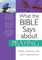 What the Bible Says about Praying - eBook