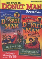 Rob Evans the Donut Man Presents: The Donut Hole 1 and 2 on  One DVD