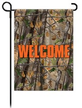 Welcome, Camouflage Flag, Small