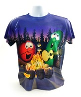 Veggie Campfire Shirt, Youth Large