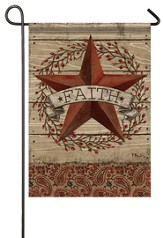 Faith, Barnstar and Berries Flag, Small