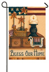 Bless Our Home Flag, Small