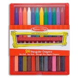 Triangular Crayon Set (24 pc)