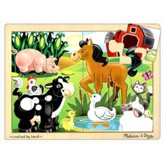 On the Farm Jigsaw Puzzle (12 pc)