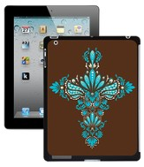 Cross iPad 2 Case, Brown and Blue