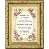 Teacher, Thank You, Framed Gift