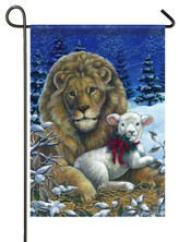 Lion & Lamb Flag, Small