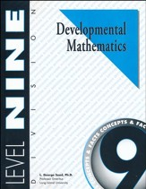 Developmental Math, Level 9, Student Workbook